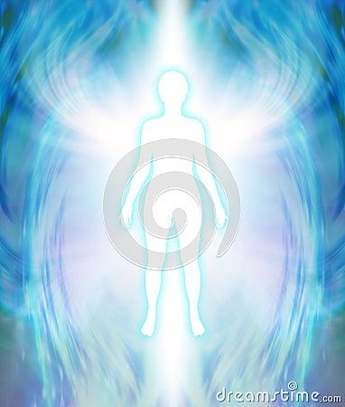 Free Angelic Aura Cleanse Stock Image - 69458211