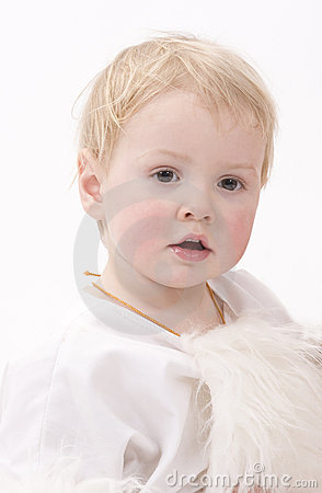The Angelic Child Royalty Free Stock Image - Image: 4286546