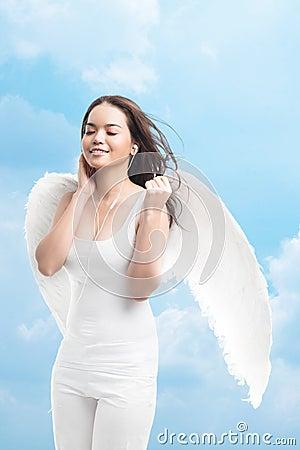 Angelic pleasure