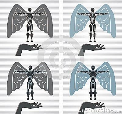 Angelic Robot