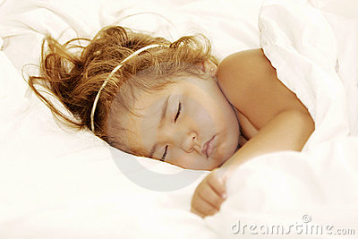 Angelic Sleeping Child