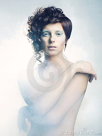 Free Angelic Woman Stock Photography - 22946242