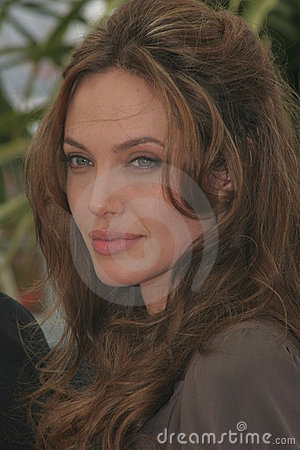 Angelina Jolie Editorial Image