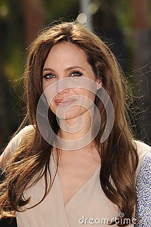 Angelina Jolie Editorial Photography