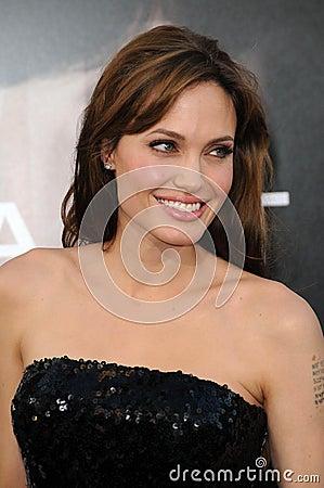 Angelina Jolie Editorial Photo