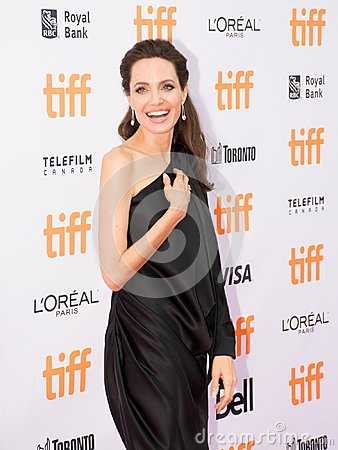 Free Angelina Jolie At World Premiere Of Netflix`s Film`s `First They Killed My Father` During The Toronto International Film Festival Stock Photos - 99762573