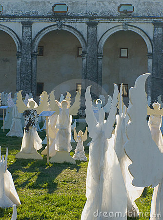 The Angels' Choir, Villa Manin, Italy Editorial Image