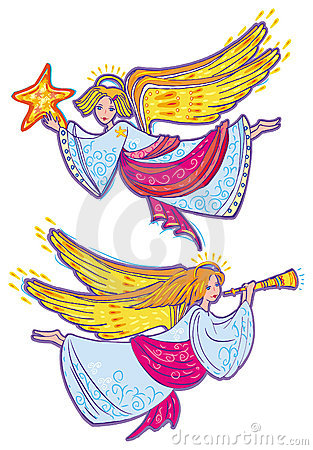 Free Angels Royalty Free Stock Photo - 7295955
