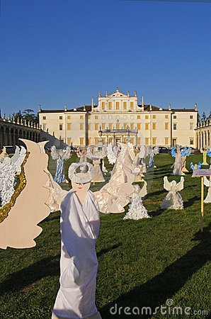 The Angels' Choir, Villa Manin, Italy Editorial Photography