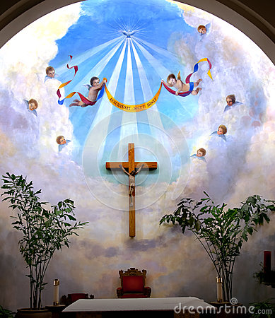 Angels Cross Immaculate Conception Church