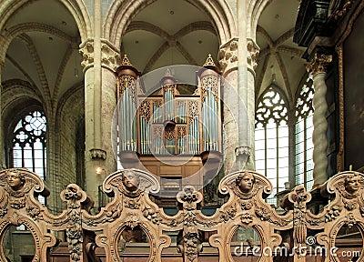 Angels and great organ