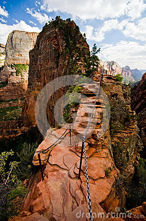 Free Angels Landing At Zion National Park, Utah Royalty Free Stock Photo - 33625445