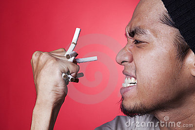 Anger smoker