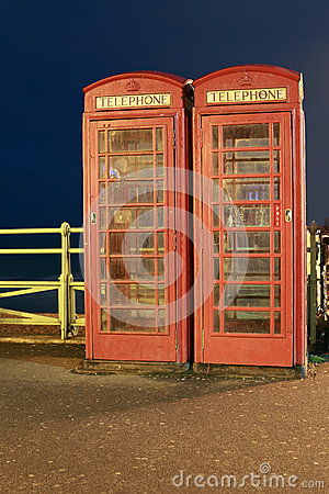 Angielscy telefonów Booths
