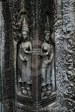 Angkor Temple Art