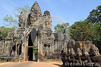 νότος πυλών angkor thom