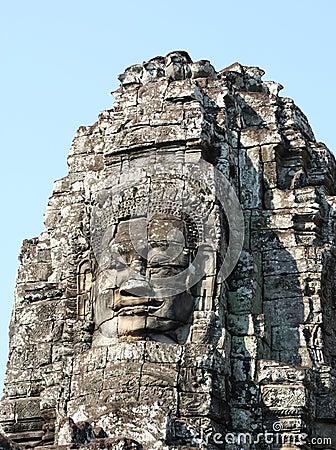 Angkor Thom, Cambodia: Bayon