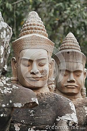 Angkor Thom Statues