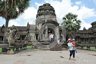 Angkor Wat Editorial Photography