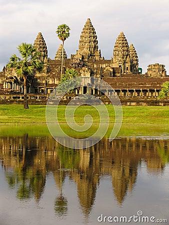 Free Angkor Wat Royalty Free Stock Photography - 6086127