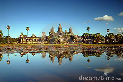 Angkor Wat in Afternoon Light