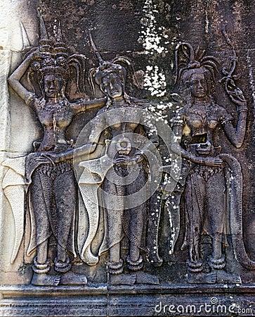 Angkor Wat bas-reliefs