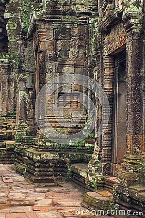 Free Angkor Wat (Bayon Temple) Royalty Free Stock Photos - 8462418