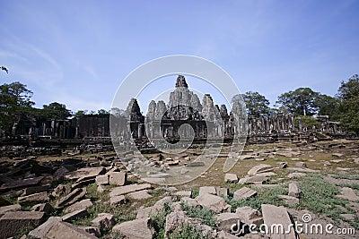 Angkor wat, Bayon temple, Cambodia