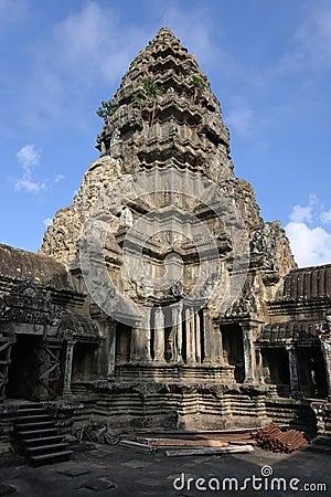Angkor Wat central tower