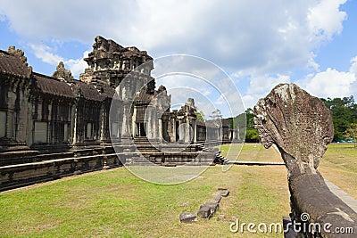 Angkor Wat outer wall