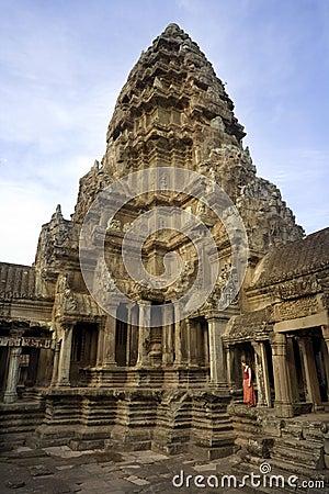 Angkor Wat - Siem Reap - Cambodia Editorial Stock Photo