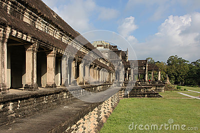 Angkor Wat Temple outer gallery