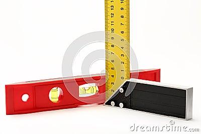 Angle ruler and balance level