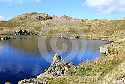 Angle Tarn and Angletarn Pikes, Lake District.