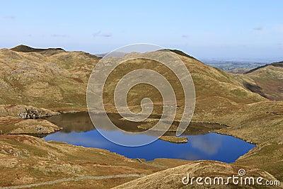 Angle tarn och Angletarn pikes, Lakeområde
