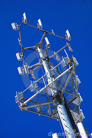 Free Angled Antenna Panels Stock Photography - 4772182