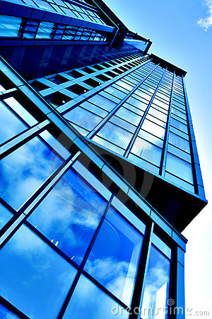Free Angled Business Skyscraper Royalty Free Stock Images - 11376179