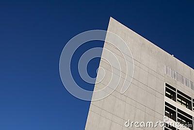 Angled Modern Building