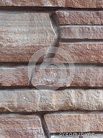 Angled Stone Masonry