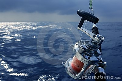 Saltwater Fishing Boats on Angler Boat Big Game Fishing In Saltwater Royalty Free Stock Photo