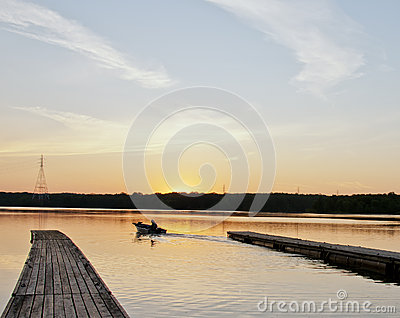 Angler s Dawn