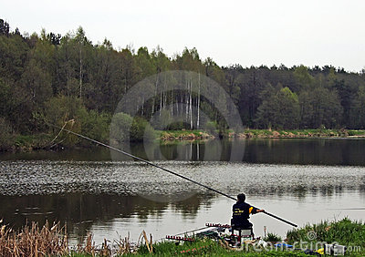 Anglers competition Editorial Image