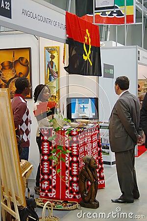 Angola exhibition at TT Warsaw Editorial Photo
