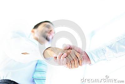 Angolo preso di stringa le mani