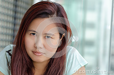 Average asian girl