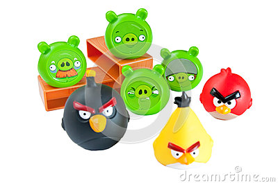 Angry birds Editorial Photography