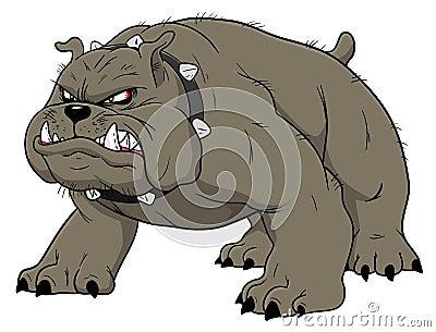 Angry Bulldog Stock Image - Image: 20935361