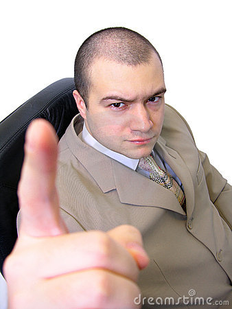 Free Angry Businessman Stock Image - 56821