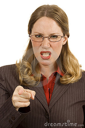 Angry Businessperson