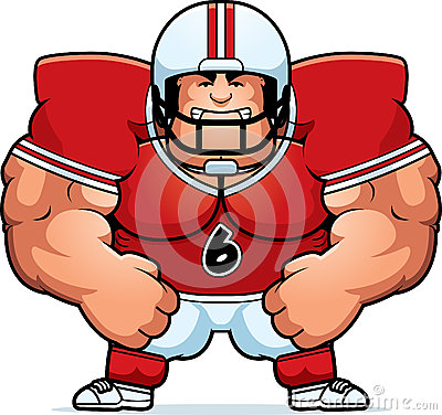 Image result for linebacker in a swimsuit cartoon